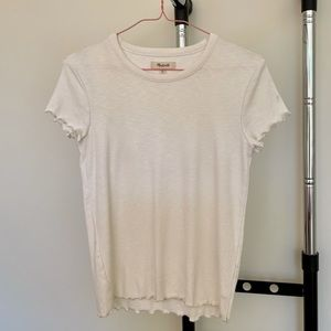 Off white t-shirt from Madewell (XS)